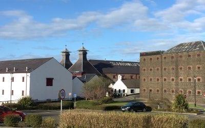 Bushmills / Бушмилс поселок и вискокурня. Ирландия на машине. Часть 7