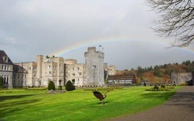 Замок Эшфорд / Ashford Castle в Конг в графстве Мэйо / Cong Village Country Mayo. Ирландия на машине. Часть 11
