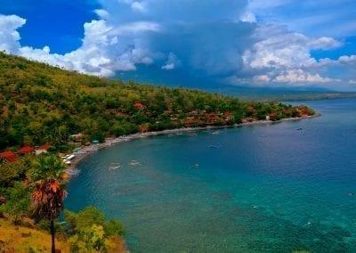 снорклинг на Бали, Амед, бухта Джамелук