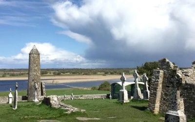 Клонмакнойс Монастырь / Clonmacnoise Monastery. Ирландия на машине. Часть 14