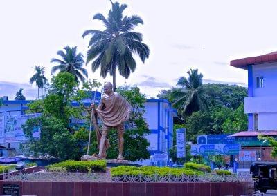 памягник Ганди, Порт-Блэр, Андаманские острова