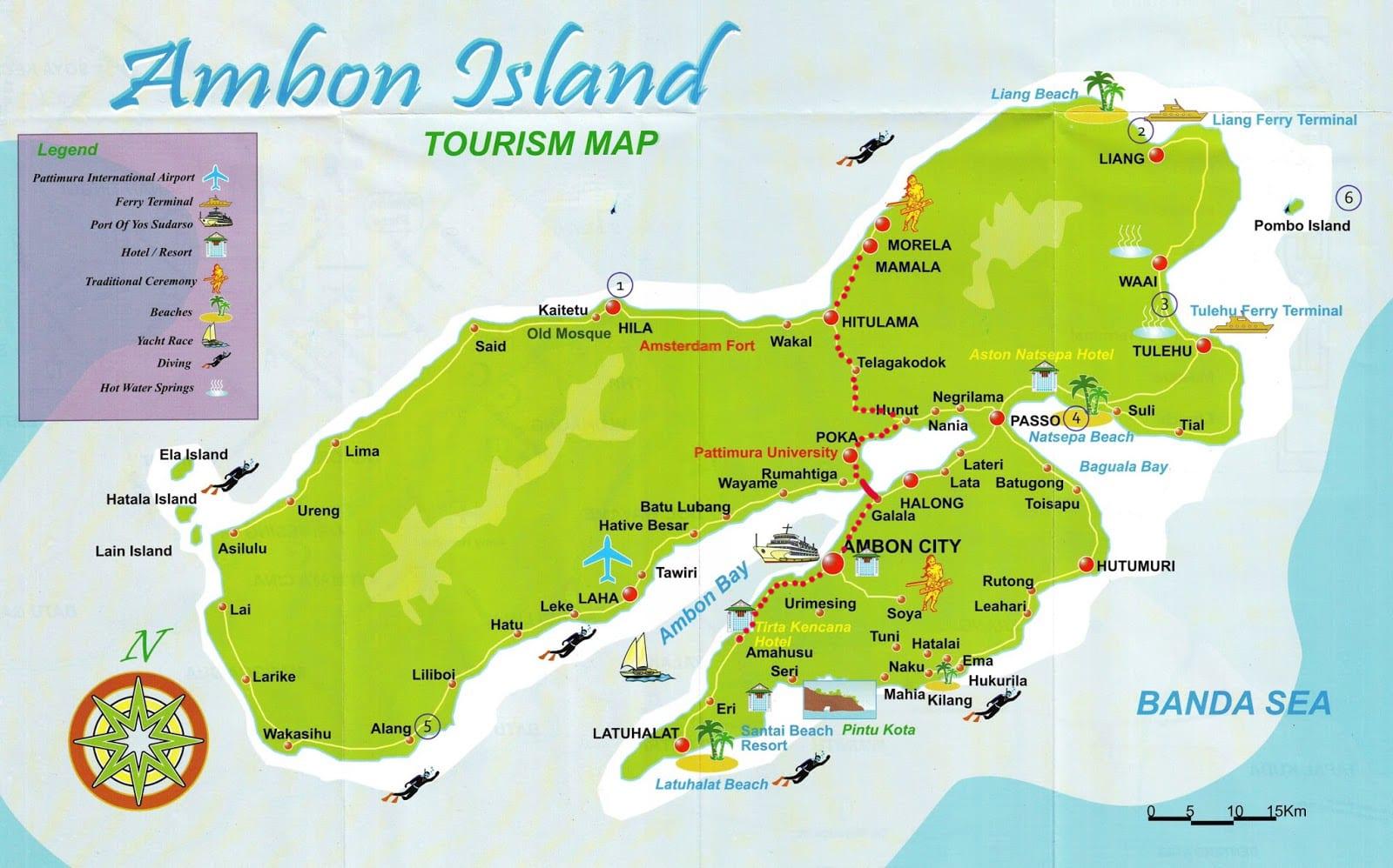 Остров Амбон, Индонезия - Практические путешествия