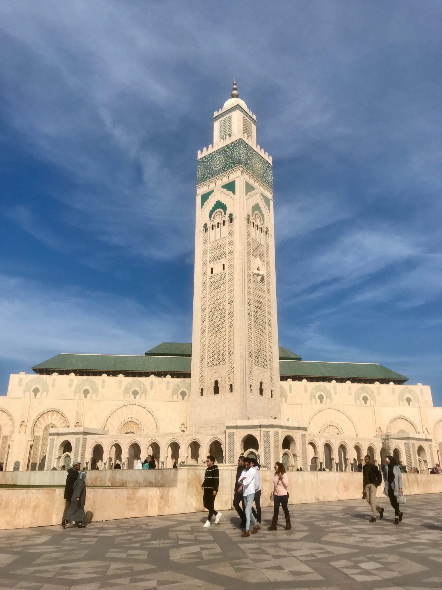 Мечеть Hassan II, Касабланка, Марокко
