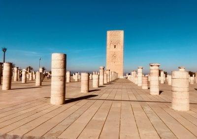 Минарет Хасана (Hassan Tower), Раббат