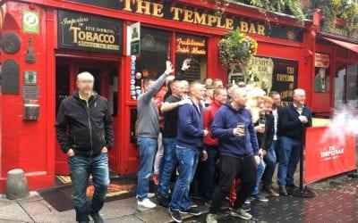 Ирландские пабы. Дублин район Темпл Бар / Dublin Temple Bar